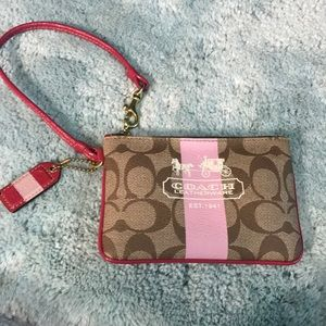FLASH SALE Coach Wristlet
